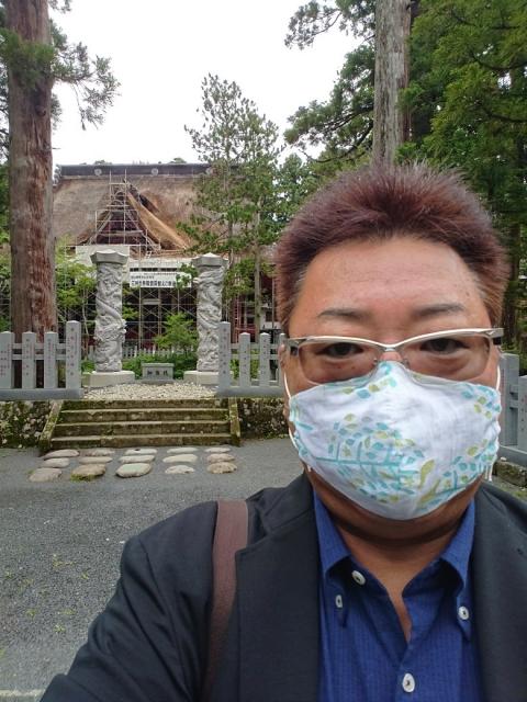羽黒山神社へのご祈祷…今日からの船出…